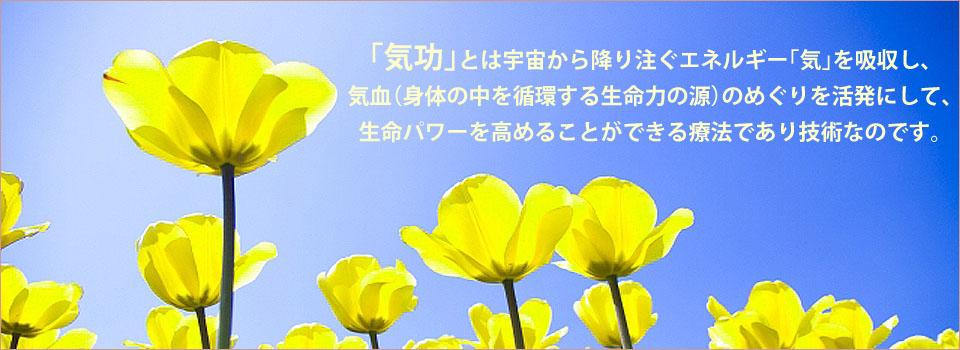 「気功」は人体の細胞を活性化させ、免疫力や自然治癒力を高めて、病気の回復や病気を寄せ付けないパワーを養う生命パワー活性療法です。日本難病自然回復研究所